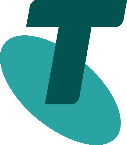%Telstra